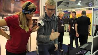 Nikki Chats to Gadget geek David McClelland at the Gadget Show live at Xmas