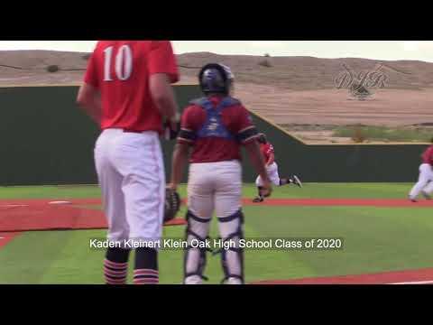 Kaden Kleinert Klein Oak High School Class of 2020