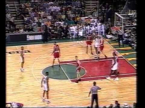 NBA-Finals 1996 Game 5-Seatle Supersonics.vs.Chicago Bulls (Montes y Daimiel)
