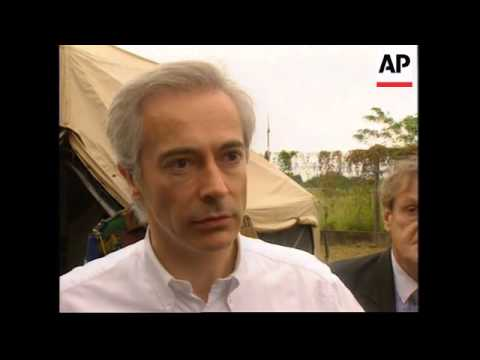 CONGO: BRAZZAVILLE: BELGIAN DEFENCE MINISTER JEAN-POL PONCELET VISIT