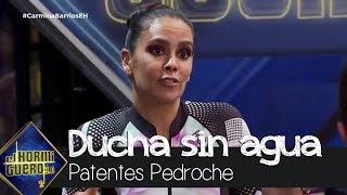 Cristina Pedroche se queda sin agua en la 'ducha portátil' - El Hormiguero 3.0