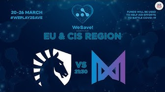 [BO5] LIQUID vs NIGMA | WeSave! Charity Play DOTA2 EU & CIS