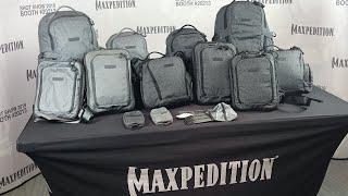NEW Maxpedition Entity Bags: Gray Man, Covert Backpacks, Sling Bags, Messenger Bags - SHOT SHOW 2019