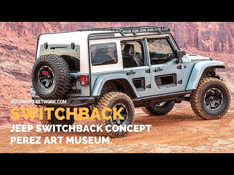 Mopar Jeep Switchback Concept | Perez Art Museum, Miami.