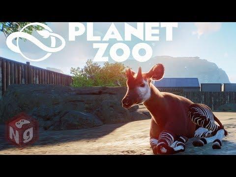 Planet Zoo - Рассвет крутого зоопарка! #1