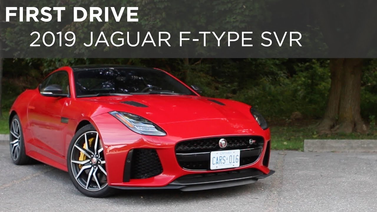 Car Review 2019 Jaguar F Type Svr Driving Ca Youtube