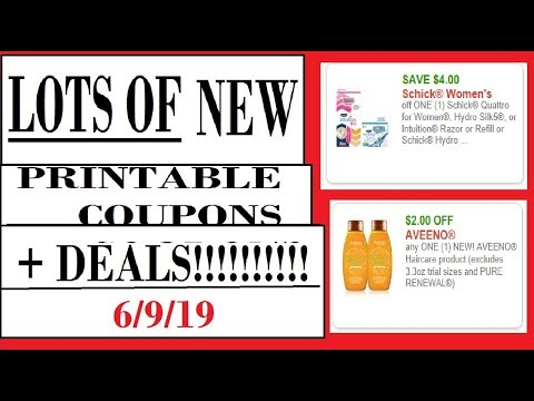 picture about Kroger Printable Application called A good deal of Fresh new PRINTABLE Discount coupons + Bargains!- 6/9/19