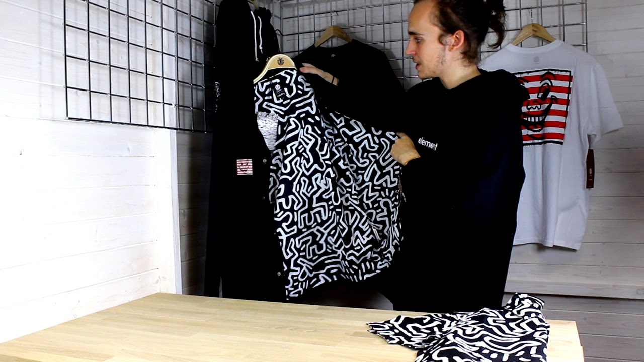 39b4707a1691 Element x Keith Haring Capsule Collection - Hardcloud - YouTube