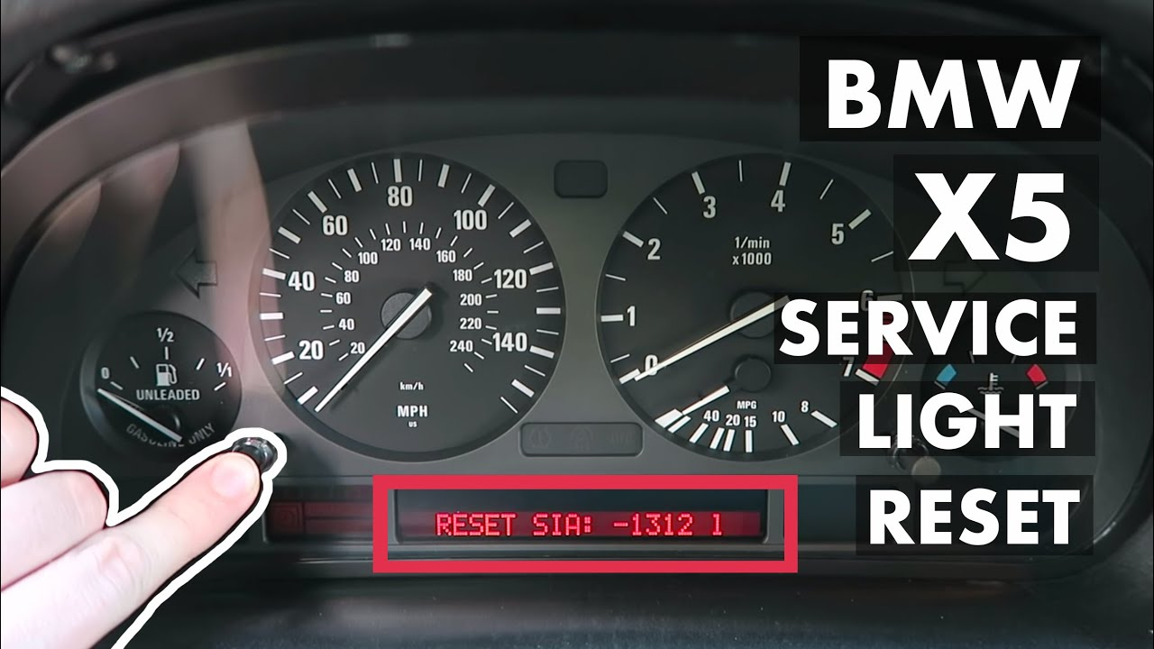 X5 Service Interval Light Reset E53 Bmw Youtube