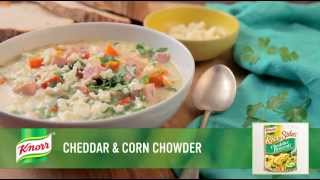 Cheddar & Corn Chowder | Easy Soup Recipe From Knorr®