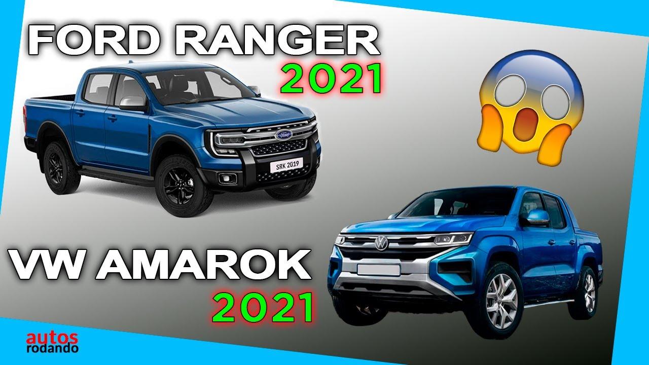 Ford Ranger 2021 Y Vw Amarok 2021 Seran Lo Mismo Youtube