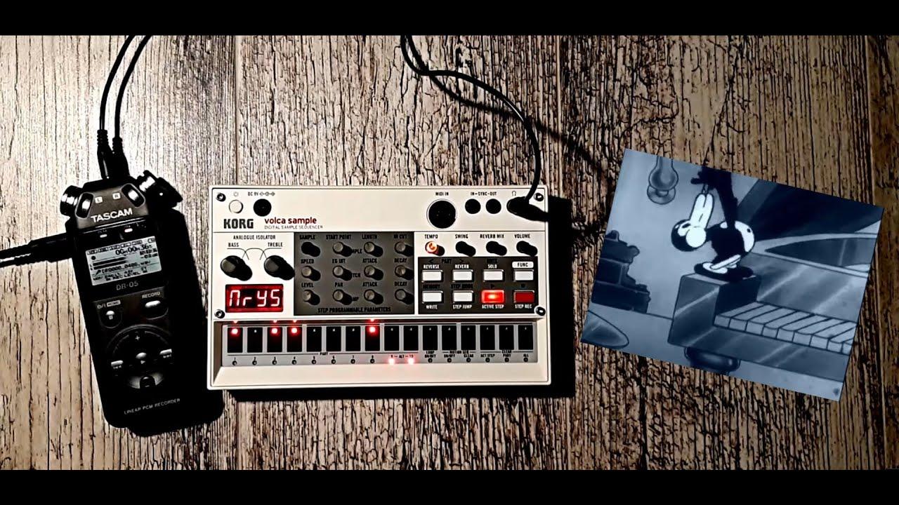 Korg Volca Sample - Electro Swing