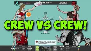 Crew Vs Crew// Freestyle Basketball 2