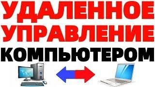 Удаленное управление компьютером Windows программа Teamviewer