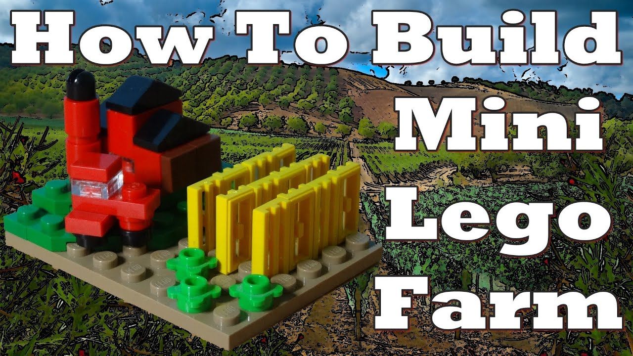 How to build a mini lego farm youtube How to build a farmhouse