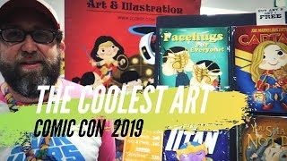The Coolest Art at Comic Con 2019