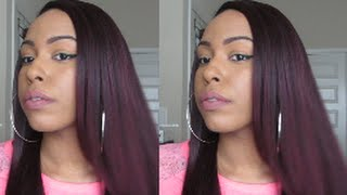 Zury Synthetic Sis The Dream Lace Front Wig DR- H Evan | SOMBRE/99J