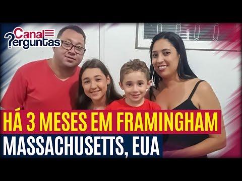 🔴[AO VIVO] Família há 3 meses em Framingham, Massachusetts, EUA ✔
