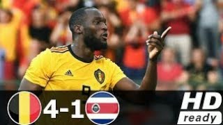 Belgium VS Costa Rica / Highlight /4-1/Courtois vs Navas 🔥