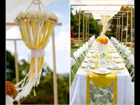 Easy Outdoor baby shower ideas - YouTube
