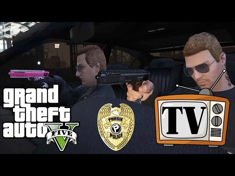 GTA 5 TV: THE CHINESE MAFIA - PHASIK POLICE EPISODE 2!