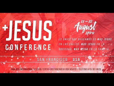 Mas Jesus   August 11, 2017   7pm   New Life Church