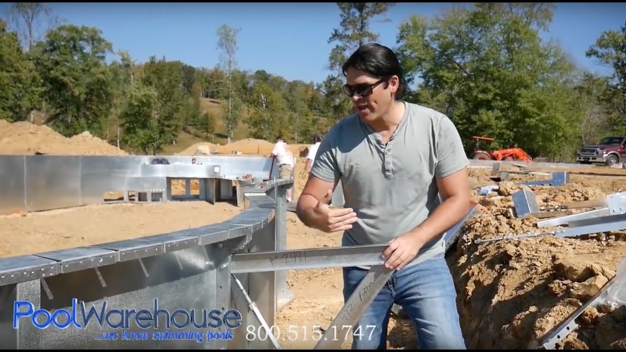How to build a diy inground pool kit from pool warehouse youtube how to build a diy inground pool kit from pool warehouse solutioingenieria Gallery