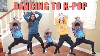 So We Tried Dancing to K-Pop...