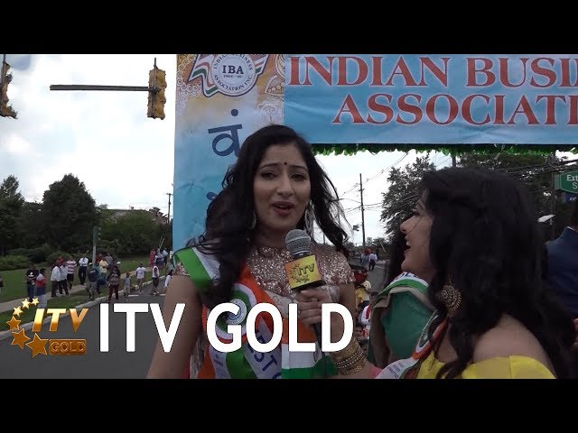 Niharica Raizada at IBA's India Day Parade in New Jersey