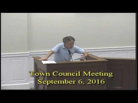 Town Council 09062016