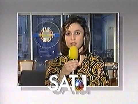 Sandra Maischberger Sat.1 So. 7.4.1991