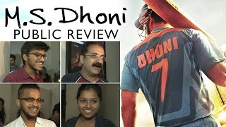 M.S.Dhoni PUBLIC REVIEW