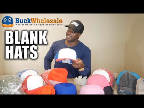 New Blank Hats From Buck Wholesale
