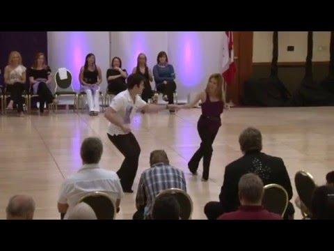 Ben Morris & Melissa Rutz Winning Improv West Coast Swing, Seattle Easter Swing