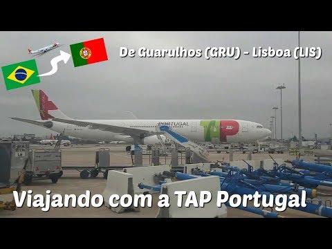 FLIGHT REPORT TAP PORTUGAL | A340 ECONÔMICA | VOANDO DE SÃO PAULO (GRU) ☞ LISBOA (LIS) | PARTE 1
