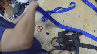 Замена ленты в автомобильном ремне безопасности