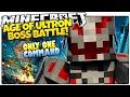 Minecraft | AGE OF ULTRON! | Ultron Boss Battle | Only One Command (Minecraft Vanilla Mod)
