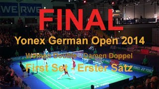 [ENG] This is the first set of the final match of Women Double of t...