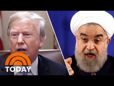 President Donald Trump Escalates War Of Words With Iran | TO