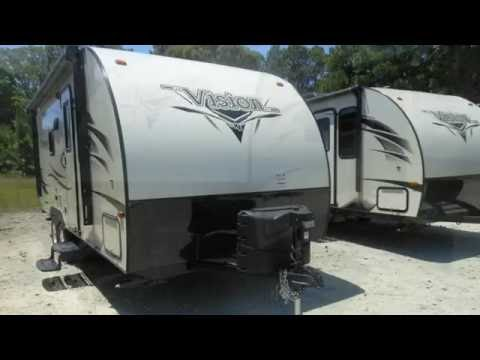 New 2017 KZ RV Vision V20RBS Travel Trailer For Sale in Athens near Tyler, Houston and Dallas, TX!
