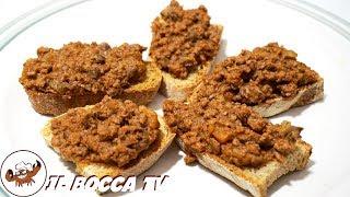 578 - Crostini barghigiani...anche questi son toscani! (antipasto di carne tipico della Garfagnana)