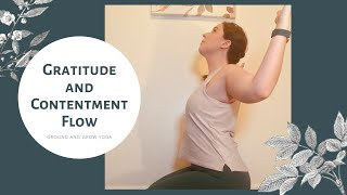 Gratitude and Contentment Yoga Flow