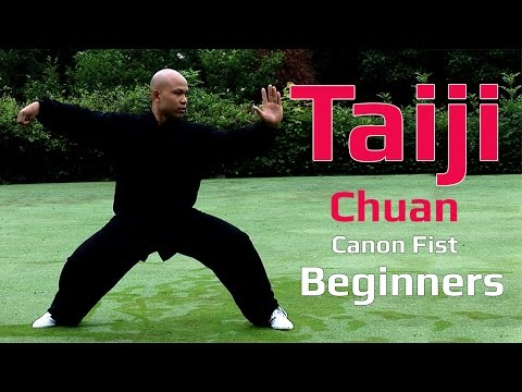 TaiJi chuan for beginners -Tai Chi Canon Fist 2 Chen style Lesson 1