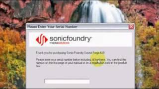 COMO INSTALAR O SOUND FORGE 6.0 NO SEU PC