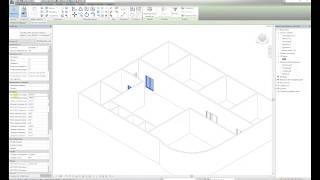 Изменение размеров BIM модели двери ФОТОТЕХ