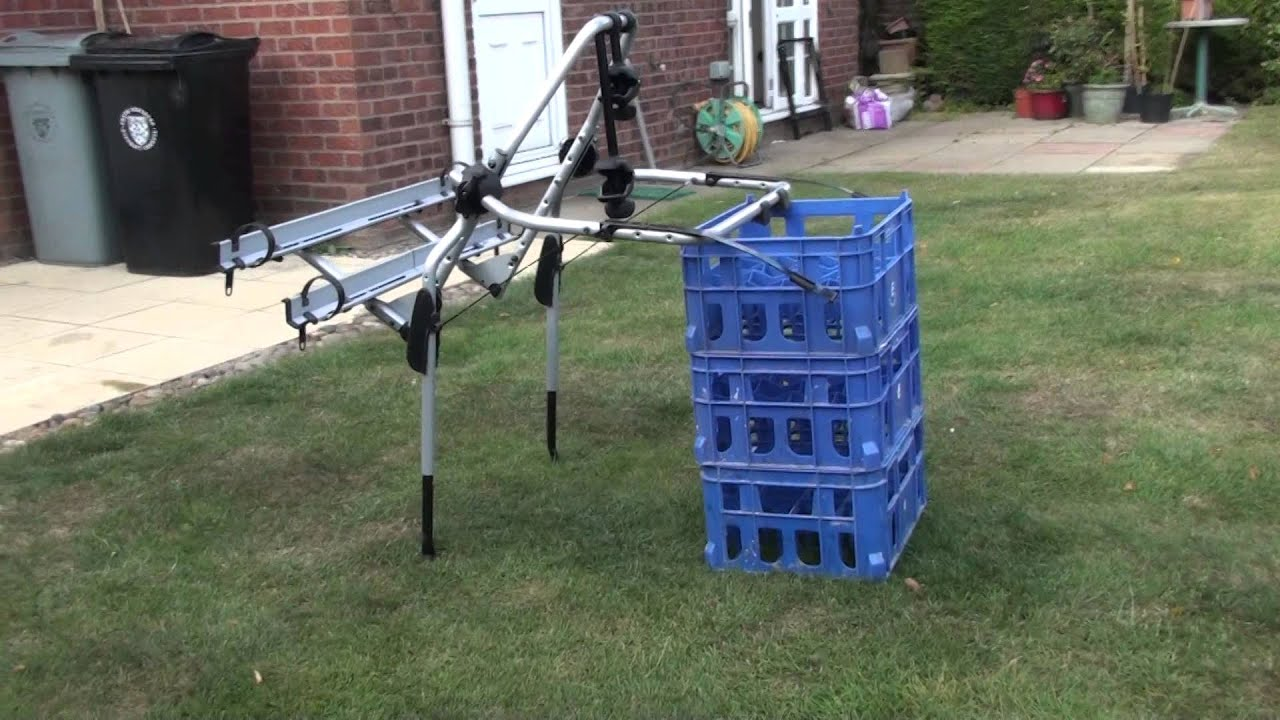 thule 9106 clipon high 2 bike carrier for sale 85 youtube