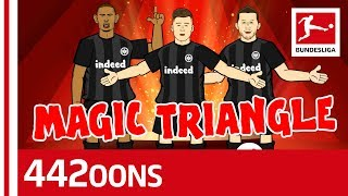 Haller, Rebic & Jovic - Frankfurt's Magic Triangle - Powered By 442oons