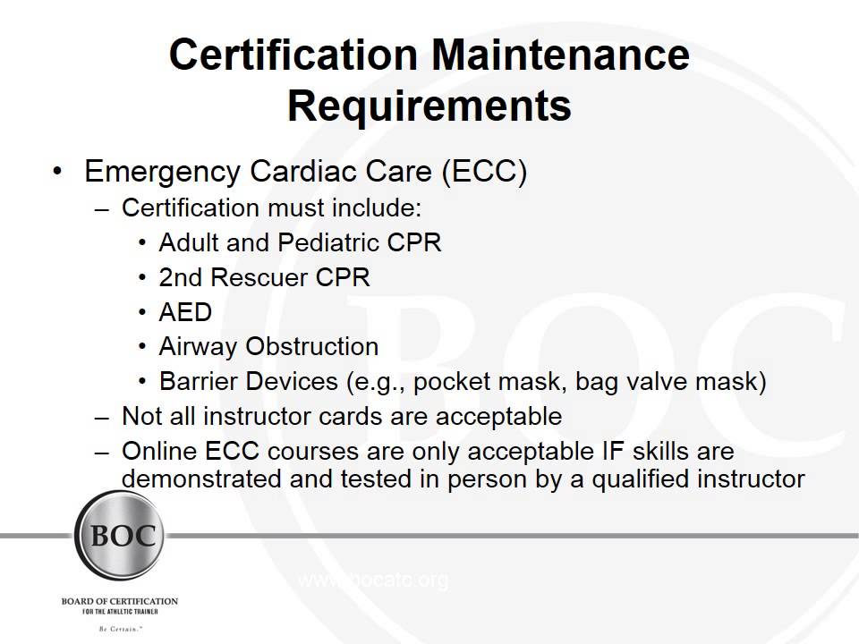 What are the Certification Maintenance Requirements - YouTube