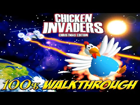 Chicken Invaders 2: Christmas Edition - ALL WAVES / LEVELS [100% walkthrough]