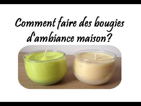update comment faire des bougies d 39 ambiance maison youtube. Black Bedroom Furniture Sets. Home Design Ideas